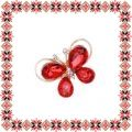 Martisor Brosa Fluturas Aripi Sticla Light Siam