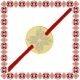 Martisor Bratara Argint 925 Placat Aur 24K Banut Mic Motive Traditionale