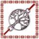 Martisor Bratara Argintie Copacul Vietii Cerc