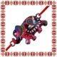 Martisor Bratara Email Elefant Multicolor