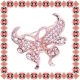 Martisor Brosa Fluture Elegant Rose Gold