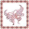 Martisor Brosa Fluture Elegant Rose Gold