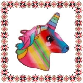 Martisor Brosa Email Unicorn Multicolor