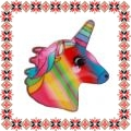 Martisor Brosa Email Unicorn Multicolor