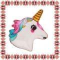 Martisor Brosa Email Unicorn Alb