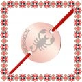 Martisor Bratara Inox Banut Rose Gold Zodia Scorpion