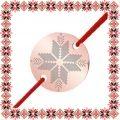 Martisor Bratara Inox Banut Rose Gold Motive Traditionale