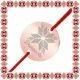Martisor Bratara Inox Banut Rose Gold Floare Dragoste