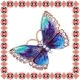 Martisor Unicat Brosa Mirror Butterfly