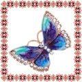 Martisor Unicat Brosa Mirror Butterfly