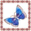 Martisor Unicat Brosa Aqua Butterfly