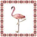 Martisor Brosa Flamingo