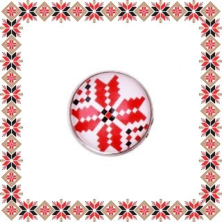 Martisor Brosa Sticla Motive Traditionale