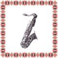 Martisor Brosa Saxofon