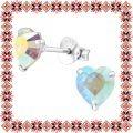 Cercei Martisor Devotion Argint 925 Cristale Swarovski Aurora Boreala