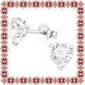 Cercei Martisor Devotion Argint 925 Cristale Swarovski Crystal Clear
