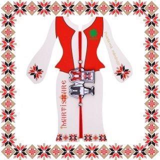 Martisor Bratara Acril Costume Populare