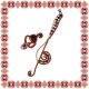 Martisor Unicat Colier Inel Music
