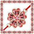 Martisor Bratara Metal Floare Motive Traditionale