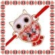 Martisor Bratara Metal Bufnita Motive Traditionale