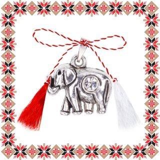 Martisor Pandantiv Elefant cu Piatra
