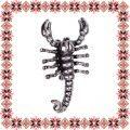 Martisor Brosa Scorpion Argintiu