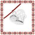 Martisor Bratara Argint 925 Inima Mecanica