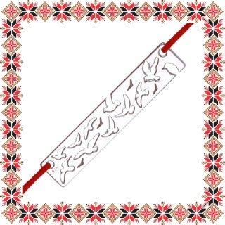 Martisor Bratara Argint 925 Pasari in Zbor