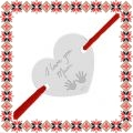 Martisor Bratara Argint 925 Inima Te Iubesc Mama