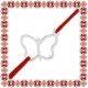 Martisor Bratara Argint 925 Contur Fluture