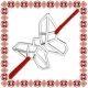 Martisor Bratara Argint 925 Origami Fluture