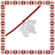 Martisor Bratara Argint 925 Caine Origami