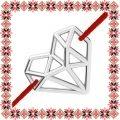 Martisor Bratara Argint 925 Inima Origami