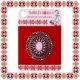 Martisor Brosa Mandala Ovala Argintiu Tibetan