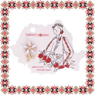Martisor Brosa Floarea Bucuriei