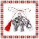 Martisor Pandantiv Elefant Trifoi cu Patru Foi