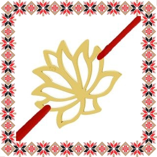 Martisor Bratara Argint 925 Placat cu Aur 24K Floare de Lotus