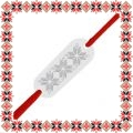 Martisor Bratara Argint 925 Placuta Motive Traditionale