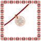 Martisor Bratara Argint 925 Placat Aur Roz 18K Floare Motive Traditionale
