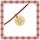 Martisor Bratara Argint 925 Placat Aur 24K Floare Motive Traditionale