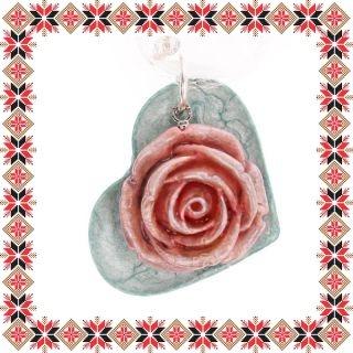 Martisor Unicat Colier Trandafir
