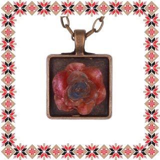 Martisor Unicat Colier Red Rose