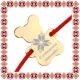 Martisor Bratara Inox Ursulet Floare Motive Traditionale