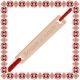 Martisor Bratara Argint 925 Placat Aur roz 18K Zambete si Bucurie