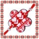 Martisor Bratara Acril Floricica Motive Traditionale